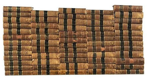 60 Bound Volumes of Atlantic Monthly