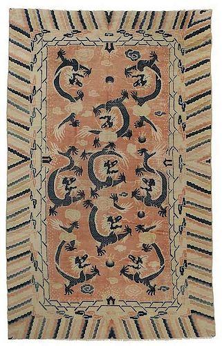 Antique Ningxia Carpet