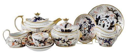 26 Piece Copeland's Imari Pattern Tea Set