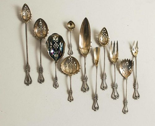 Assorted Sterling Flatware Serving Pieces, Old Colonial