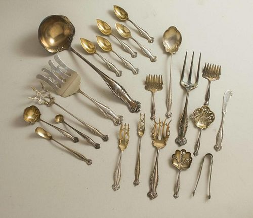 Towle Sterling Flatware & Serving Pieces, Canterbury Pattern