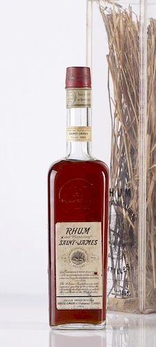 Rhum Saint-James 1885