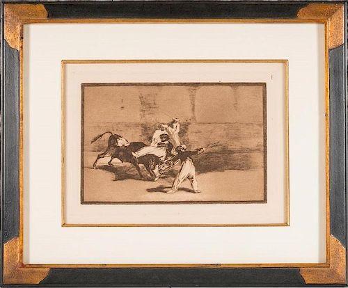 Goya, La Tauromaquia
