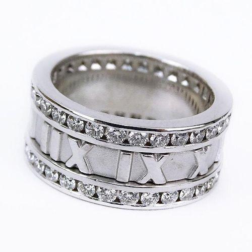 8cb9acdf7 Tiffany & Co Approx. 1.50 Carat Round Brilliant Cut Diamond and 18 ...