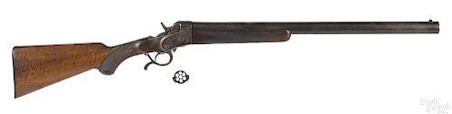 Belgian Henri Pieper seven shot rolling block gun