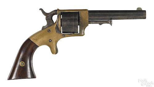 E. A. Prescott Civil War presentation revolver