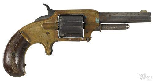 Rare Whitneyville six shot revolver