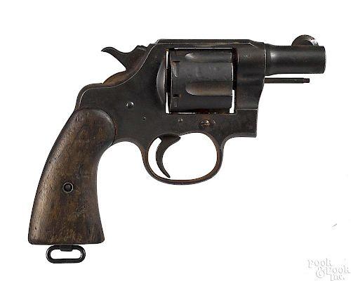 Colt US Army model 1917 DA revolver