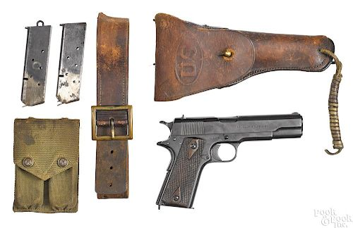 Colt US Army model 1911 semi-automatic pistol