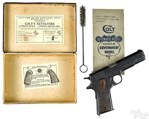 Colt commercial model 1911 semi-automatic pistol