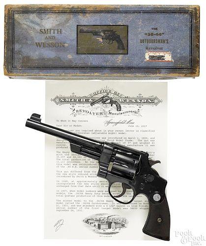 Smith & Wesson 38/44 Outdoorsman revolver