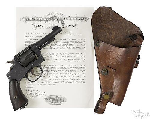 Smith & Wesson US Navy Victory model 1905 revolver