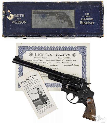 Smith & Wesson ''Registered Magnum'' revolver