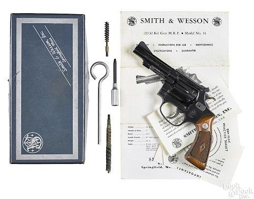Smith & Wesson model 51 22/32 kit revolver
