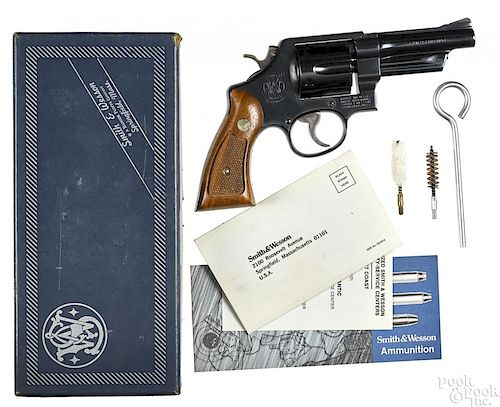 Smith & Wesson New York State Police revolver