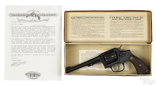 Smith & Wesson hand ejector revolver