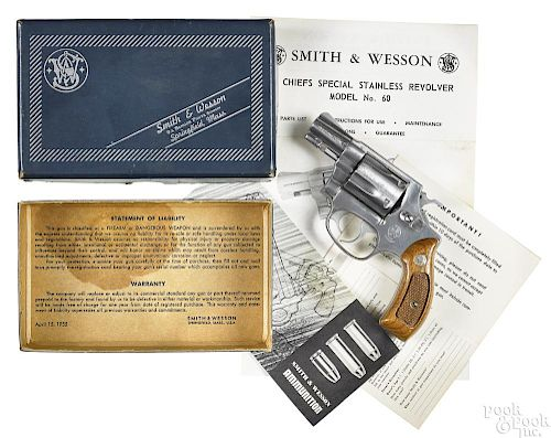 Smith & Wesson Chief Special model 60 revolver