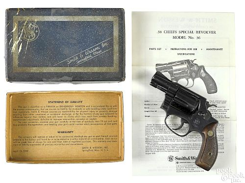 Smith & Wesson Chiefs Special revolver