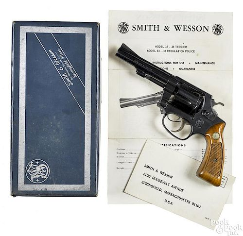 Smith & Wesson Regulation Police revolver