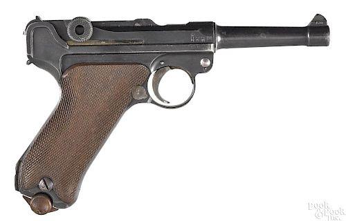 German WWI P-08 Luger semi-automatic pistol