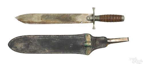 WWI US Army Hospital Corps knife with scabbard