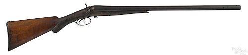 W. Richards side lever side by side shotgun