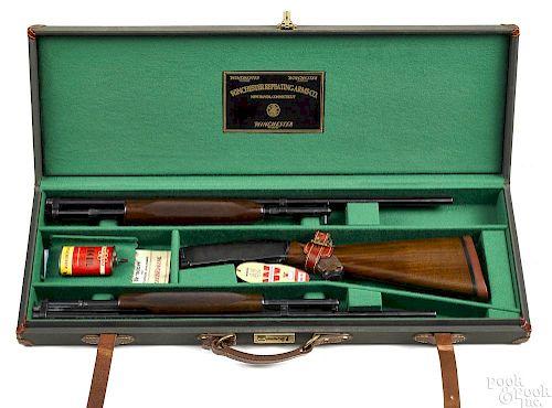 Rare cased Winchester model 42 shotgun