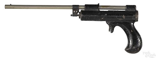 Unusual Pope Brothers air pistol