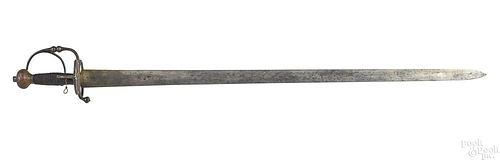 European mortuary sword