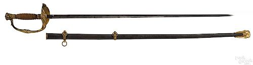 Civil War model 1860 Staff & Field officers sword