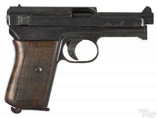 Mauser model 1914 semi-automatic pistol