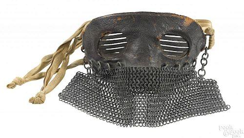 Scarce WWI tank crew splatter mask