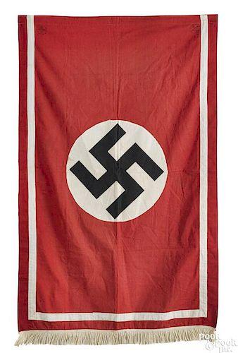 Nazi German podium flag