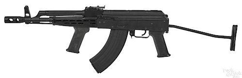 Non-functioning dummy Ak-47, with folding stock.