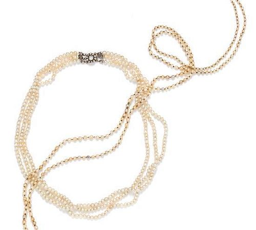 A Collection of Pearl Necklaces,
