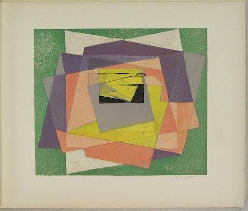 VILLON, Jacques. Three Color Lithographs.