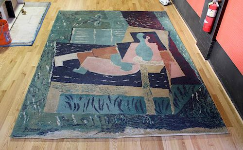 "PICASSO, Pablo (After). Tapestry ""Woman"