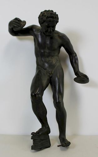 Fine Quality Antique Patinated Bronze Sculpture of