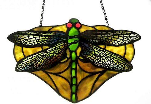 TIFFANY Studios. Dragonfly Lamp Hanger