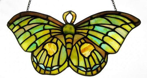 TIFFANY Studios. Butterfly Lamp Hanger
