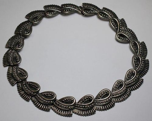 JEWELRY. Los Castillos Mexican Sterling Necklace.