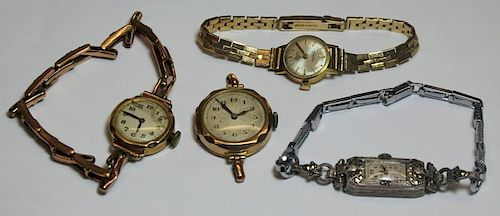JEWELRY. Grouping of Ladies Watches.
