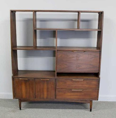 MIDCENTURY. Open Front Bookcase / Cabinet