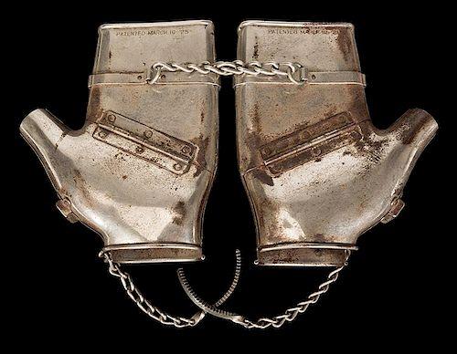 McKenzie Mitts Handcuffs.