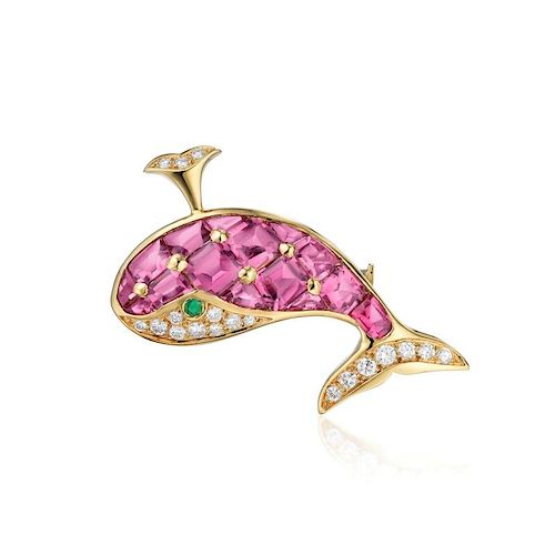 Piaget Whale Brooch