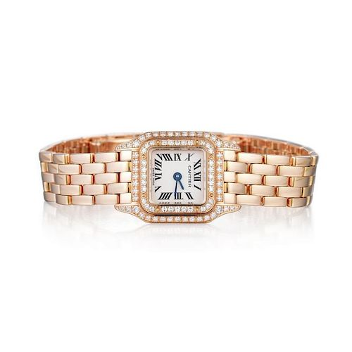 Cartier Mini Panthere Diamond Asia Limited Edition Ladies Watch