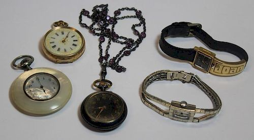 JEWELRY. Assorted Grouping of Watches.