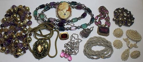 JEWELRY. Assorted Jewelry Grouping.