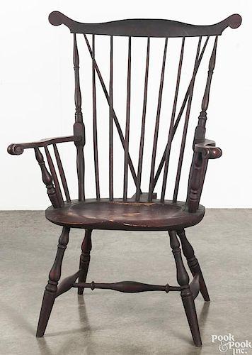 Litchfield fanback Windsor armchair.