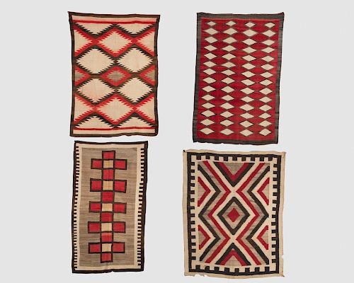 Four Miscellaneous Native American Rugs